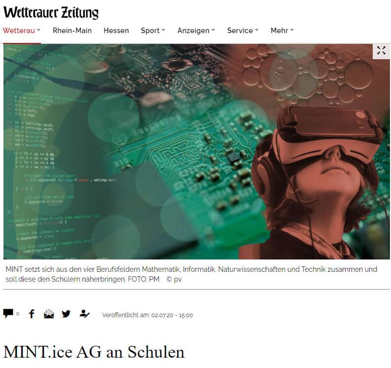 MINT ice Projekte Hessen