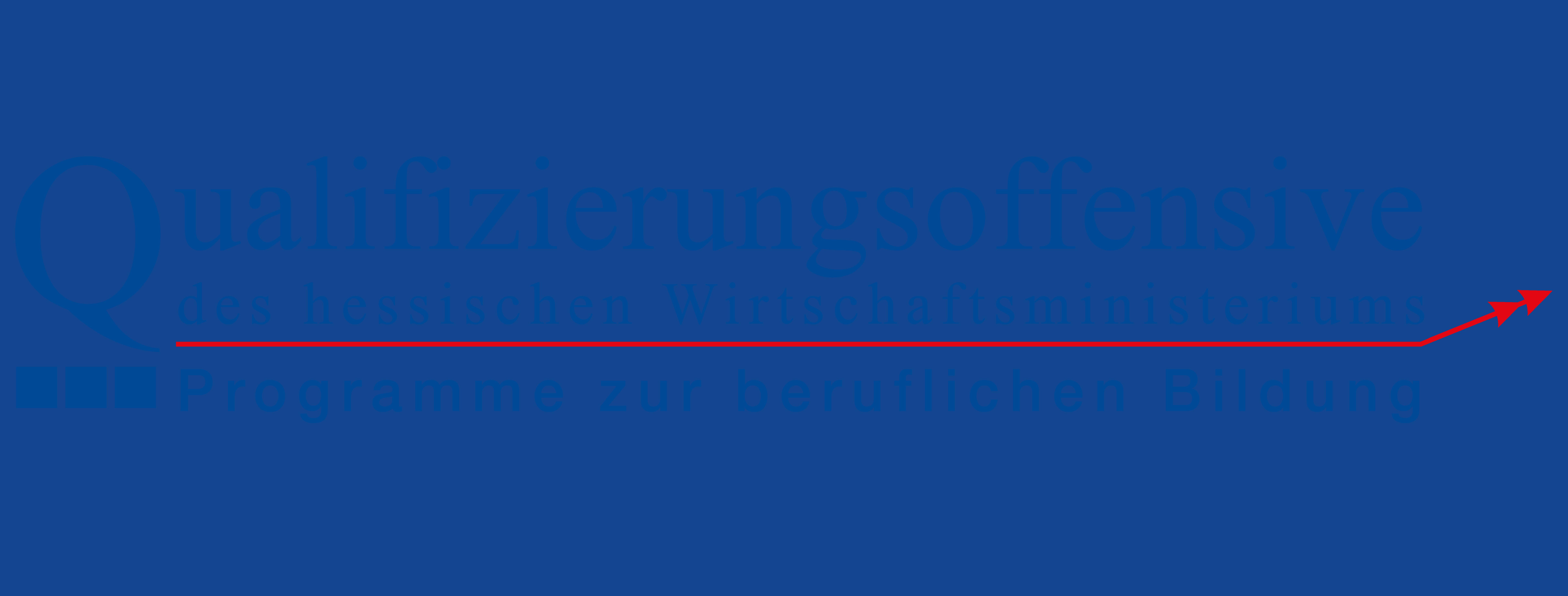 Qualifizierungsoffensive Logo